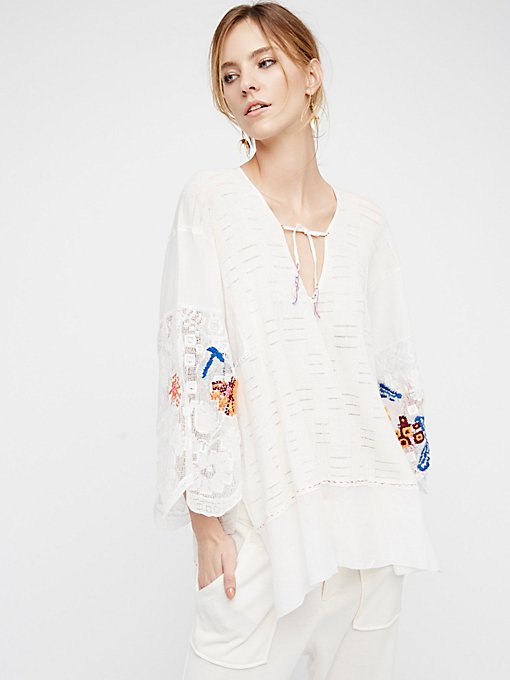 Product Image: Embroidered Flower Tunic