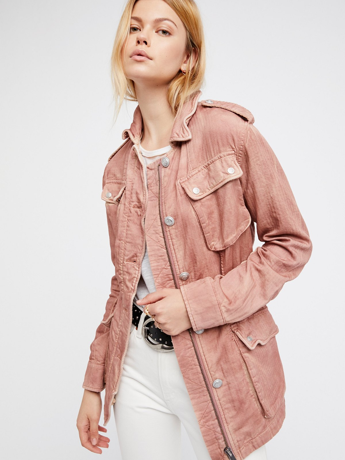 Double Cloth Jacket