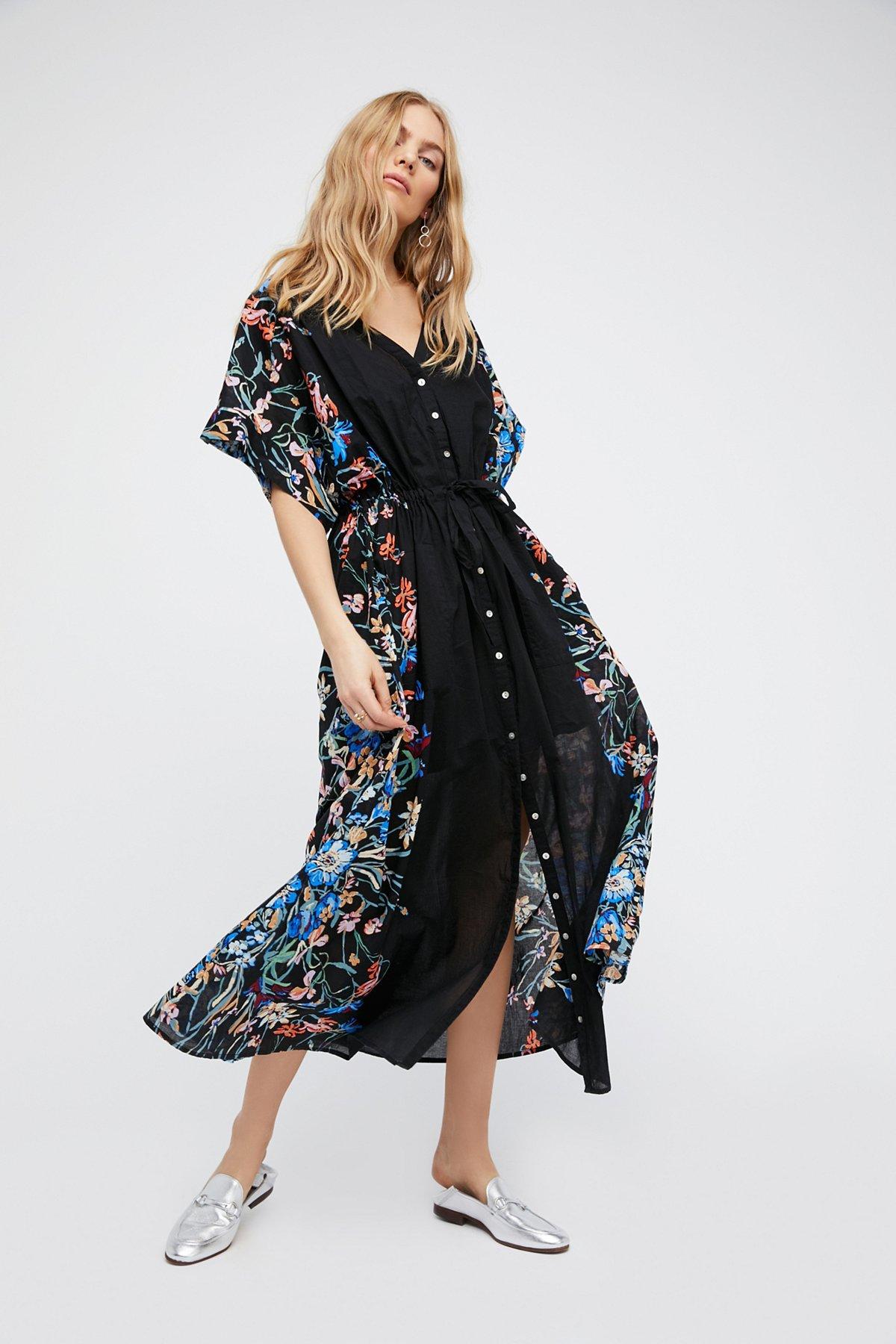 Avant Garden超长连衣裙