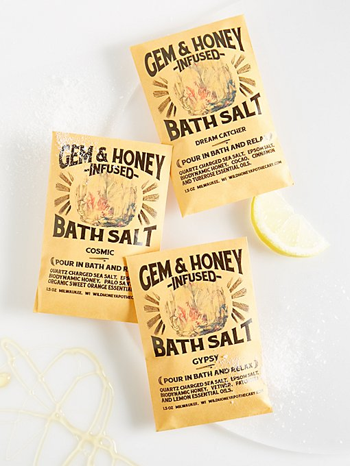 Product Image: Gem & Honey Infused Bath Salts