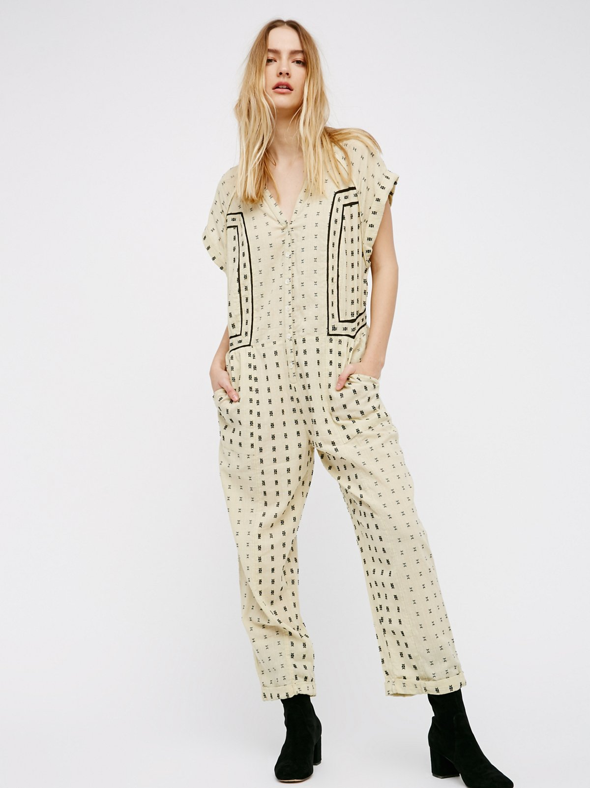 Patch It Up Jumpsuit