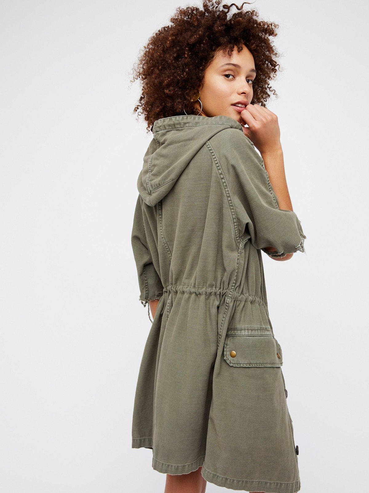 Reworked Army Jacket