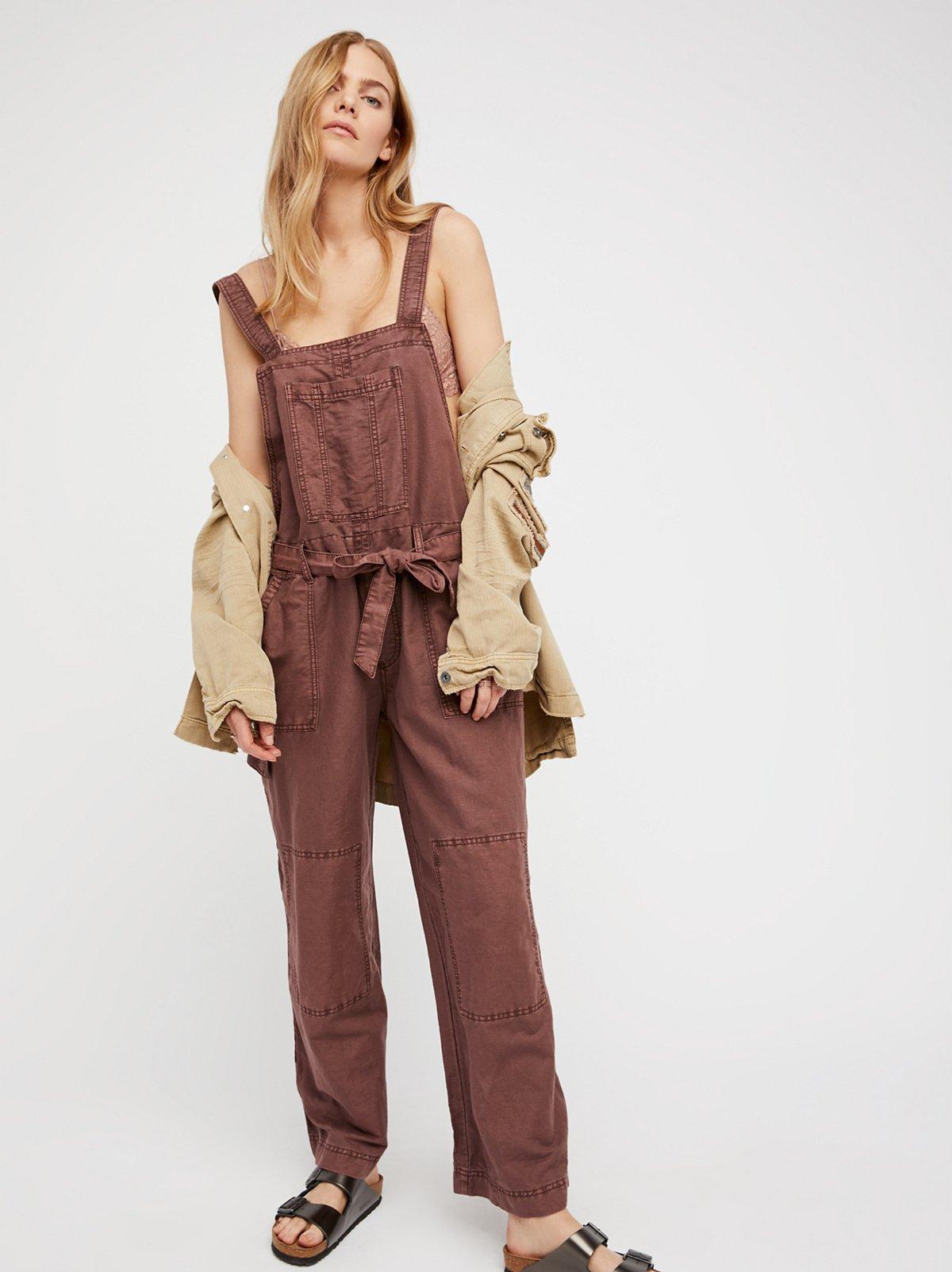 Beach Comber工装连体裤