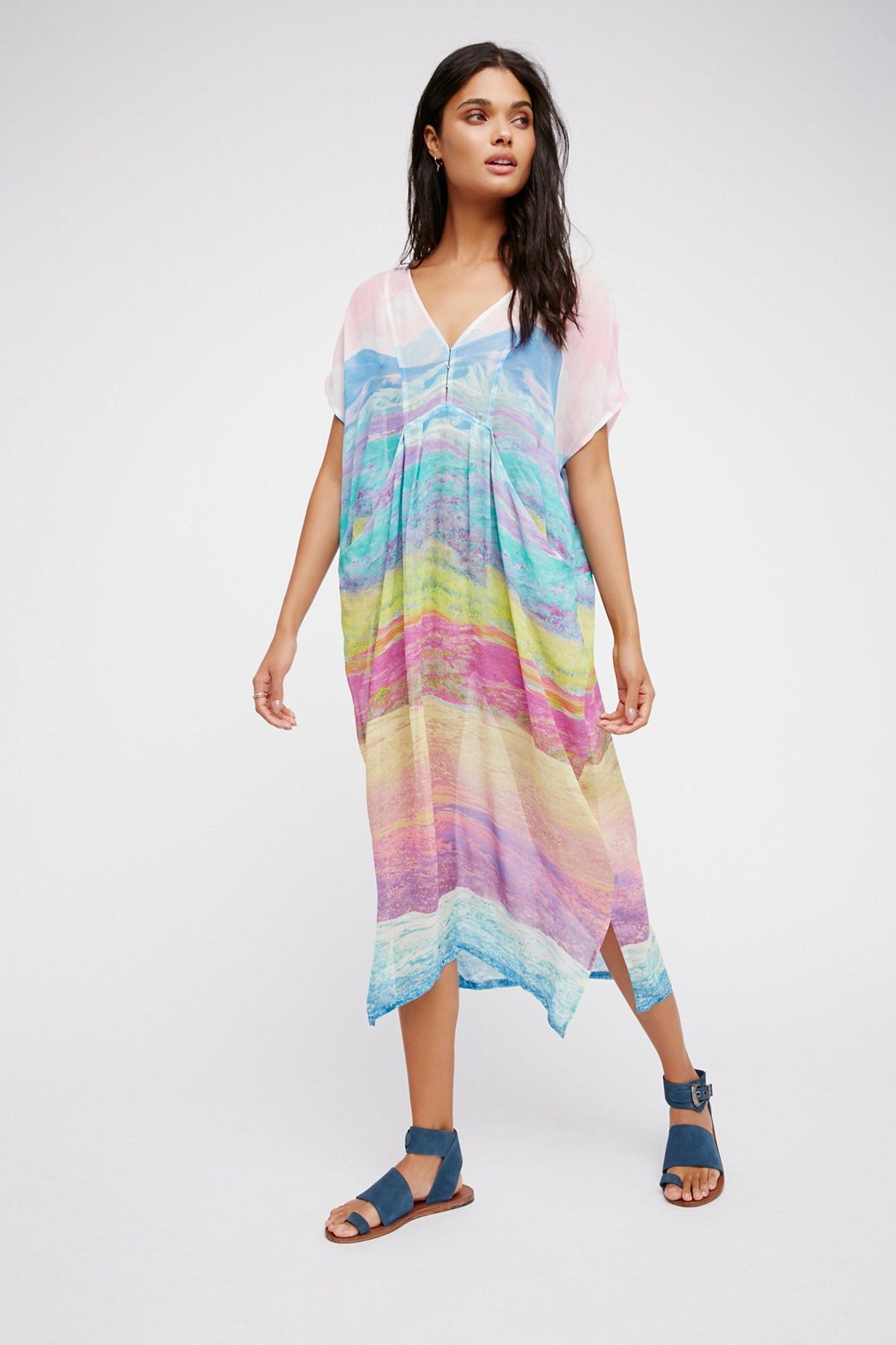 Colors Of The Land Kaftan