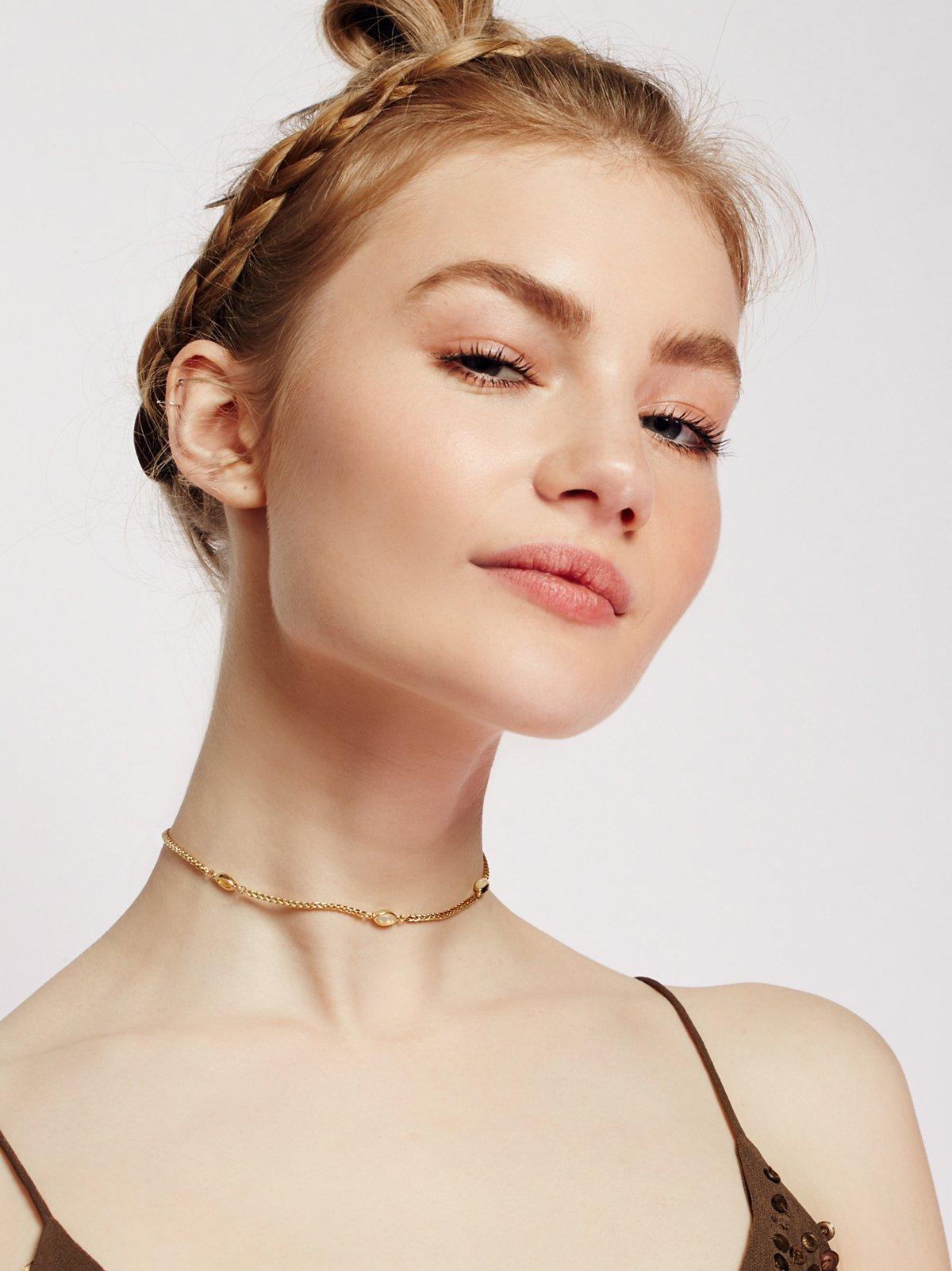 Mikah Delicate Opal Choker