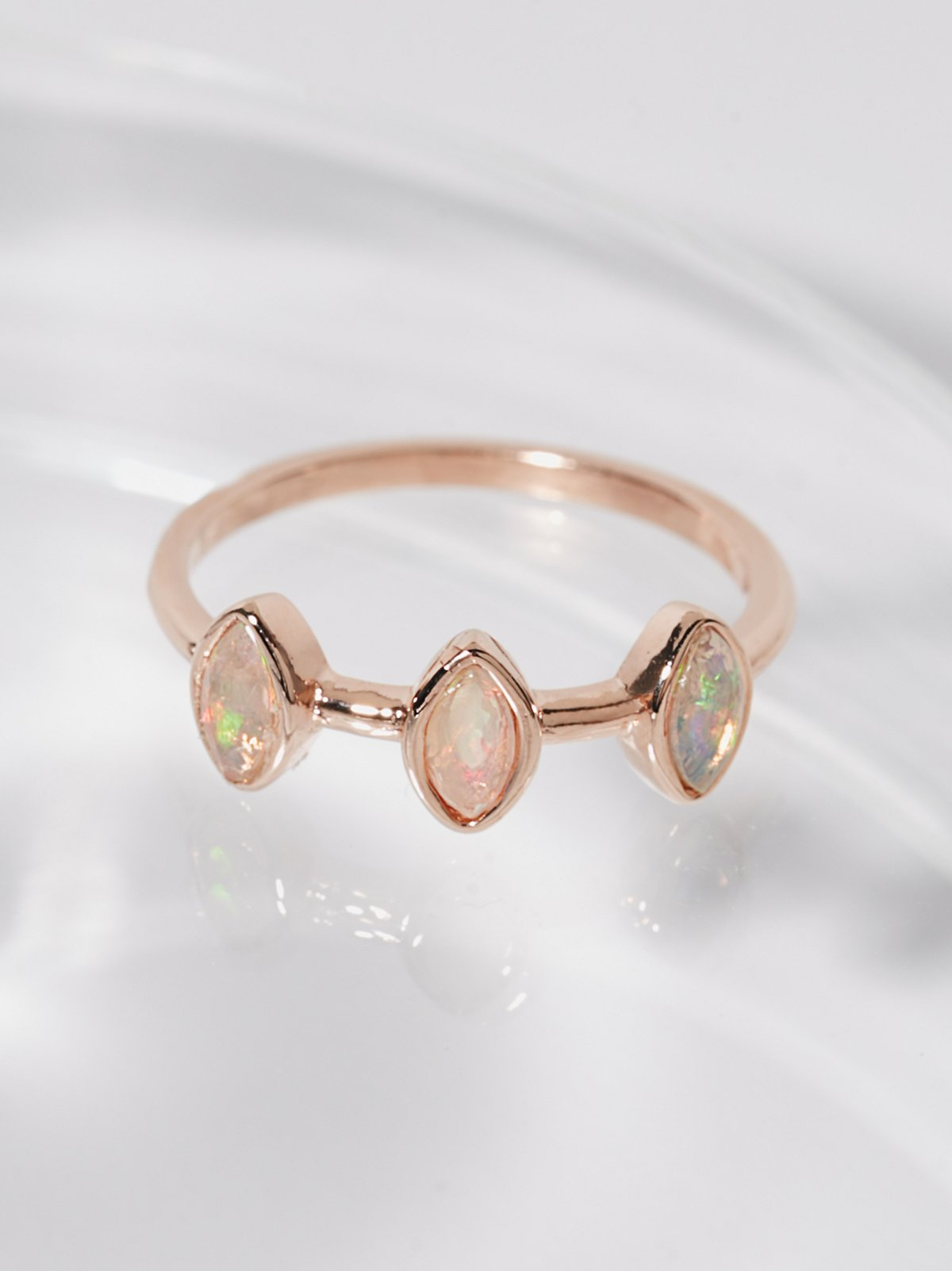 Triple Crown Opal Ring