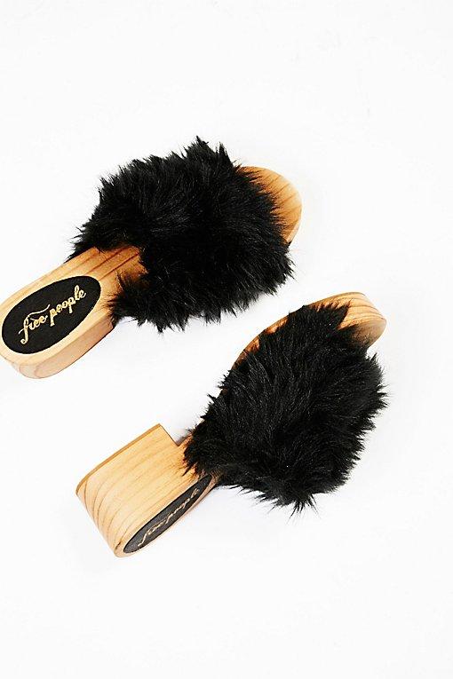 Product Image: Faux Fur Sonnet Clog