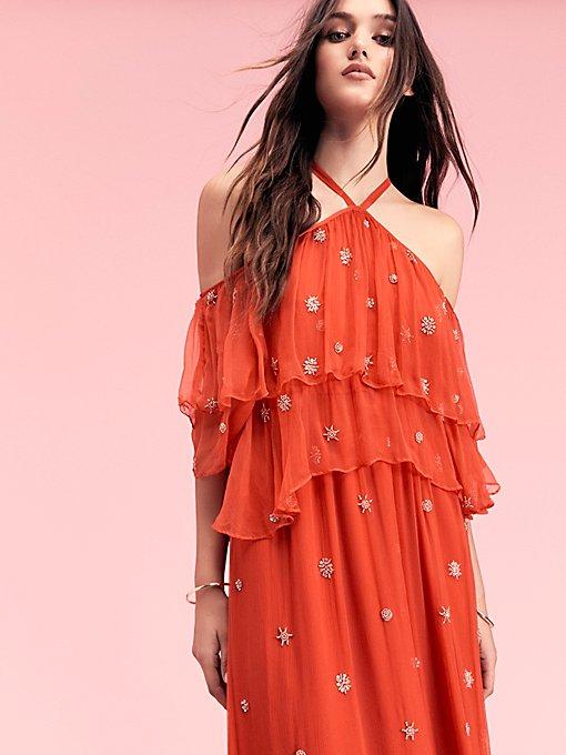 Product Image: Mila Cold Shoulder Maxi Dress