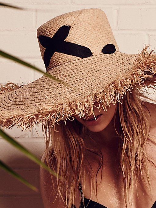 Product Image: Cross My Heart Straw Hat
