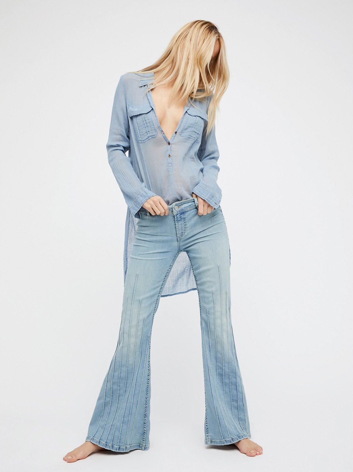 High Waisted Jeans - High Rise Jeans for Women | Free People