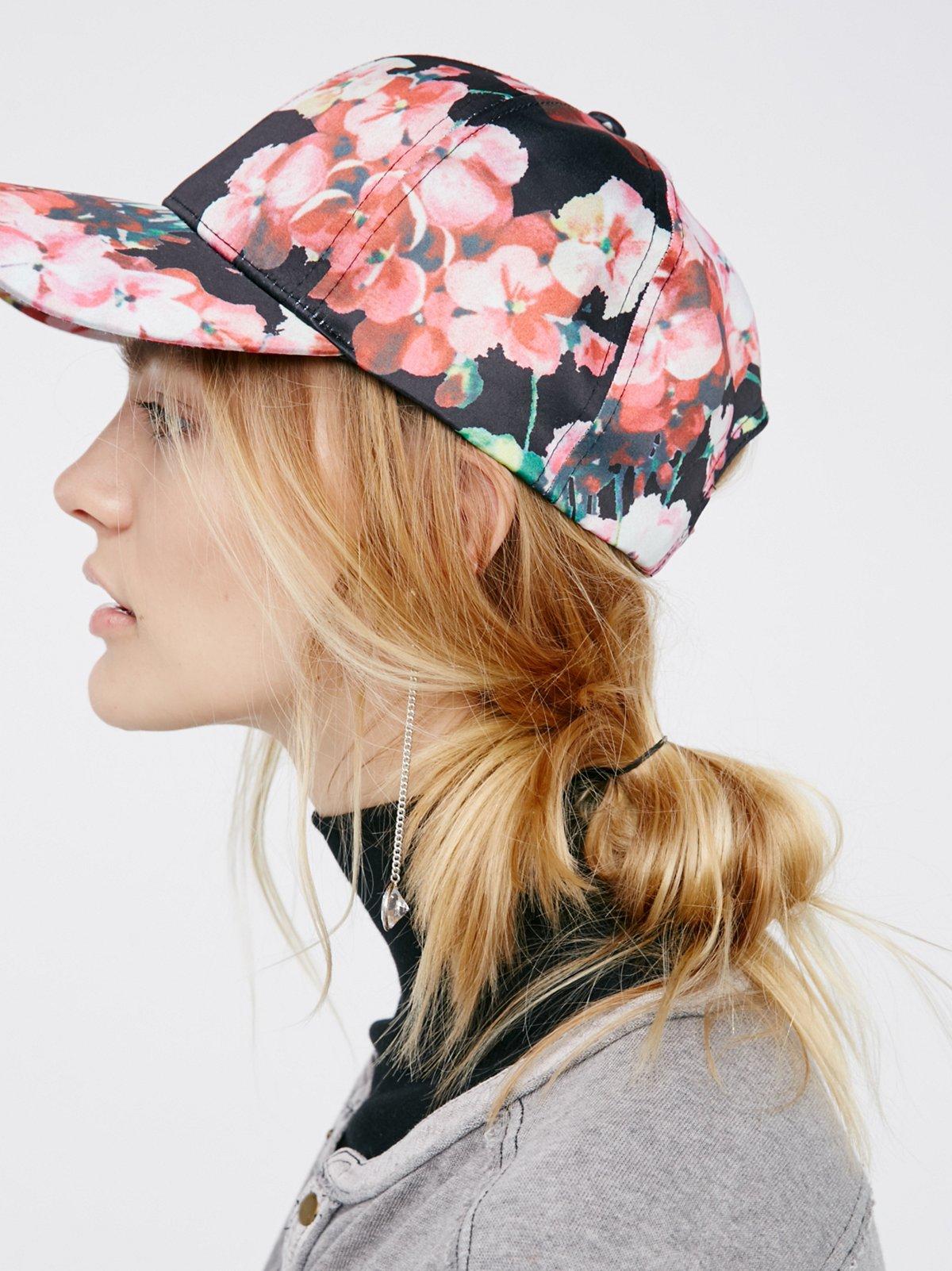Full Bloom Printed Baseball Hat