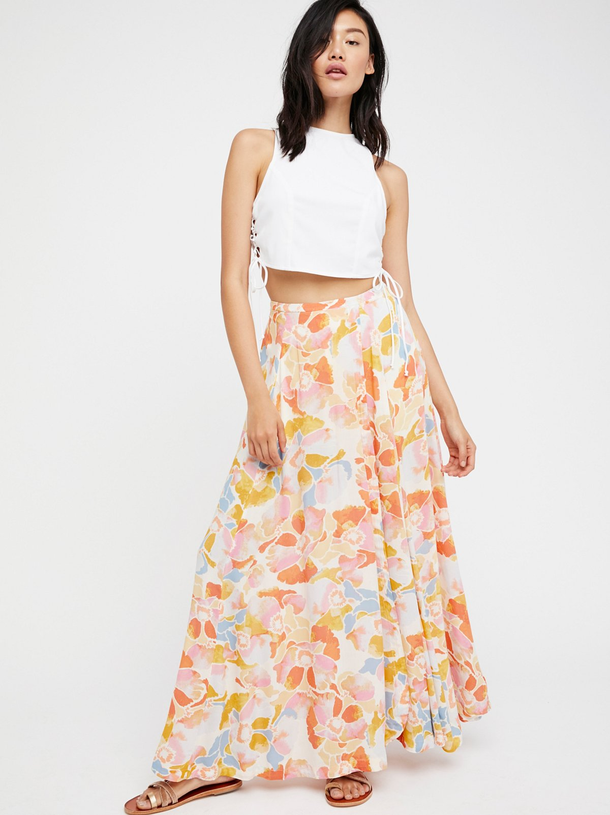Hot Tropics Maxi Skirt at Free People Clothing Boutique