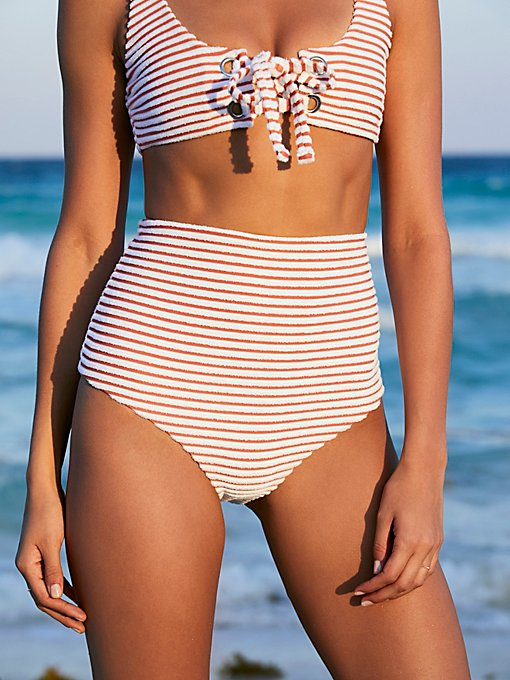 Product Image: Terry High Waist Bikini Bottom