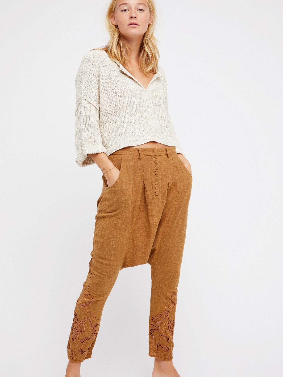 Cut Work Hareem Trouser