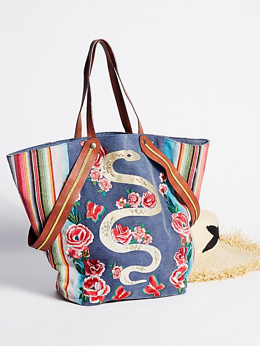 Product Image: Pandora Embroidered Tote