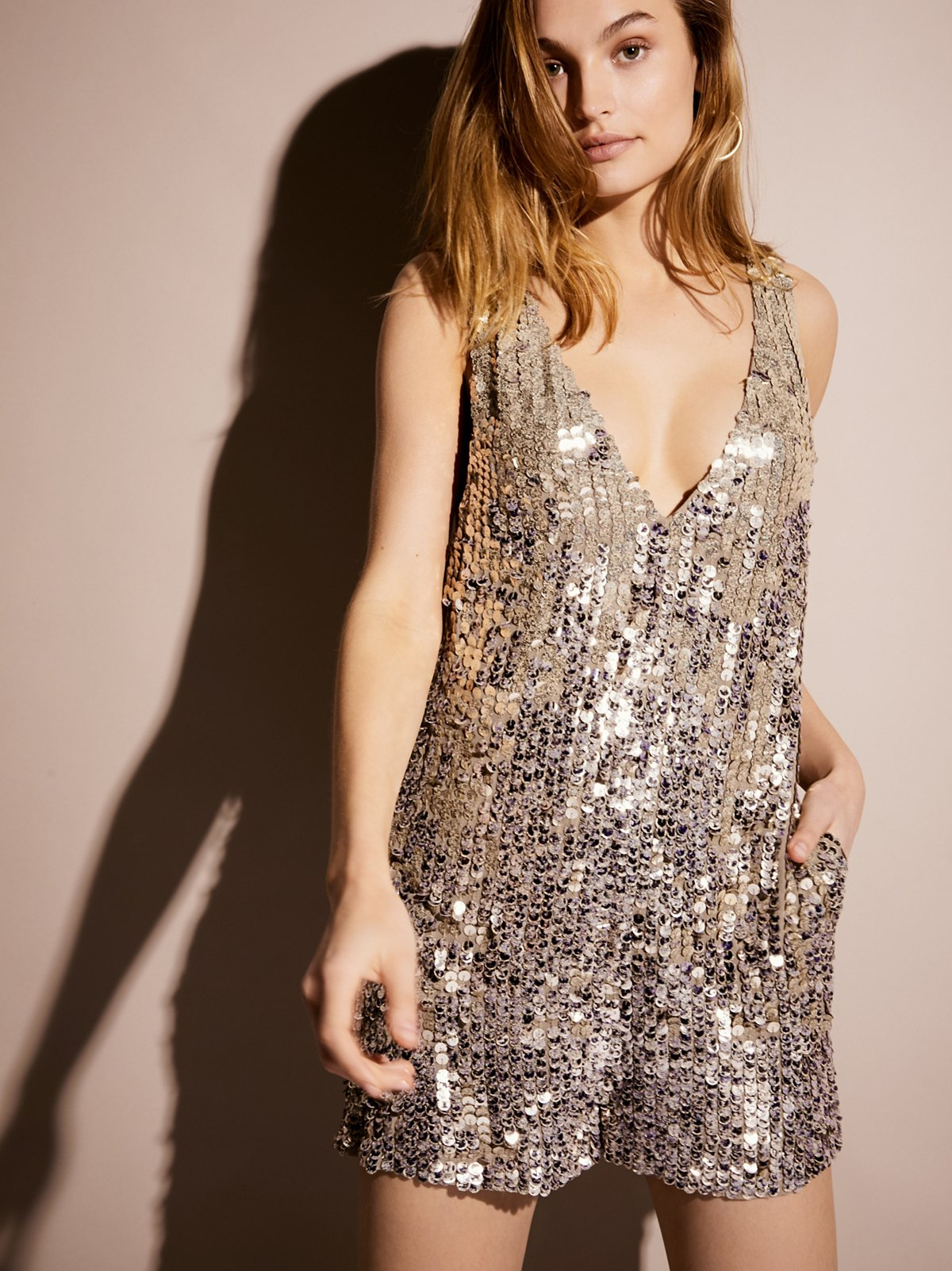 Fool's Gold Sequin Playsuit