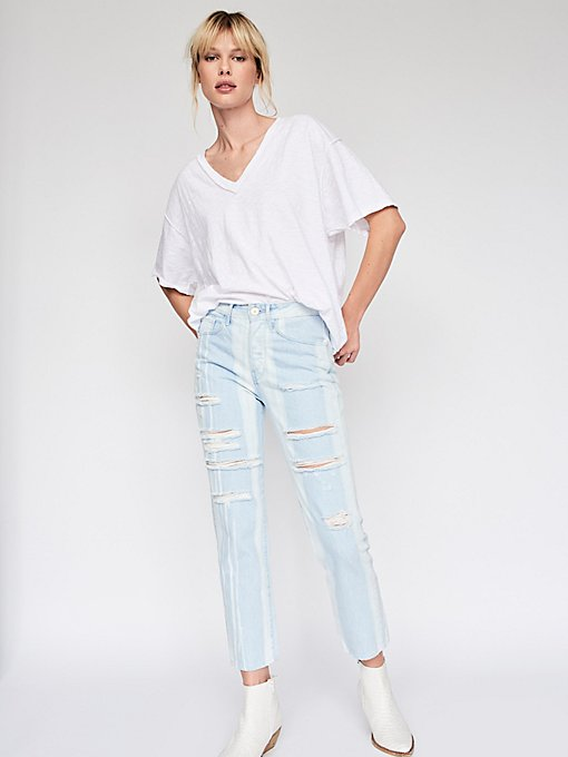 Product Image: Higher Ground Boyfriend Crop Jeans