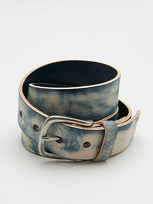 Product Image: Shibori Leather Belt