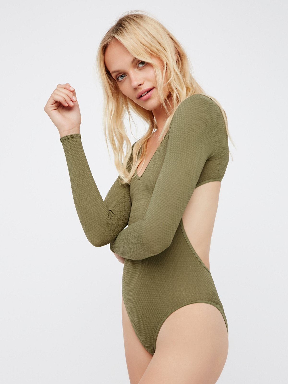 Viola Open Back Bodysuit