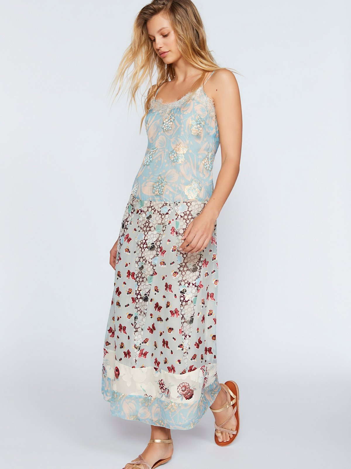 Tip Through The Tulips Slip Dress