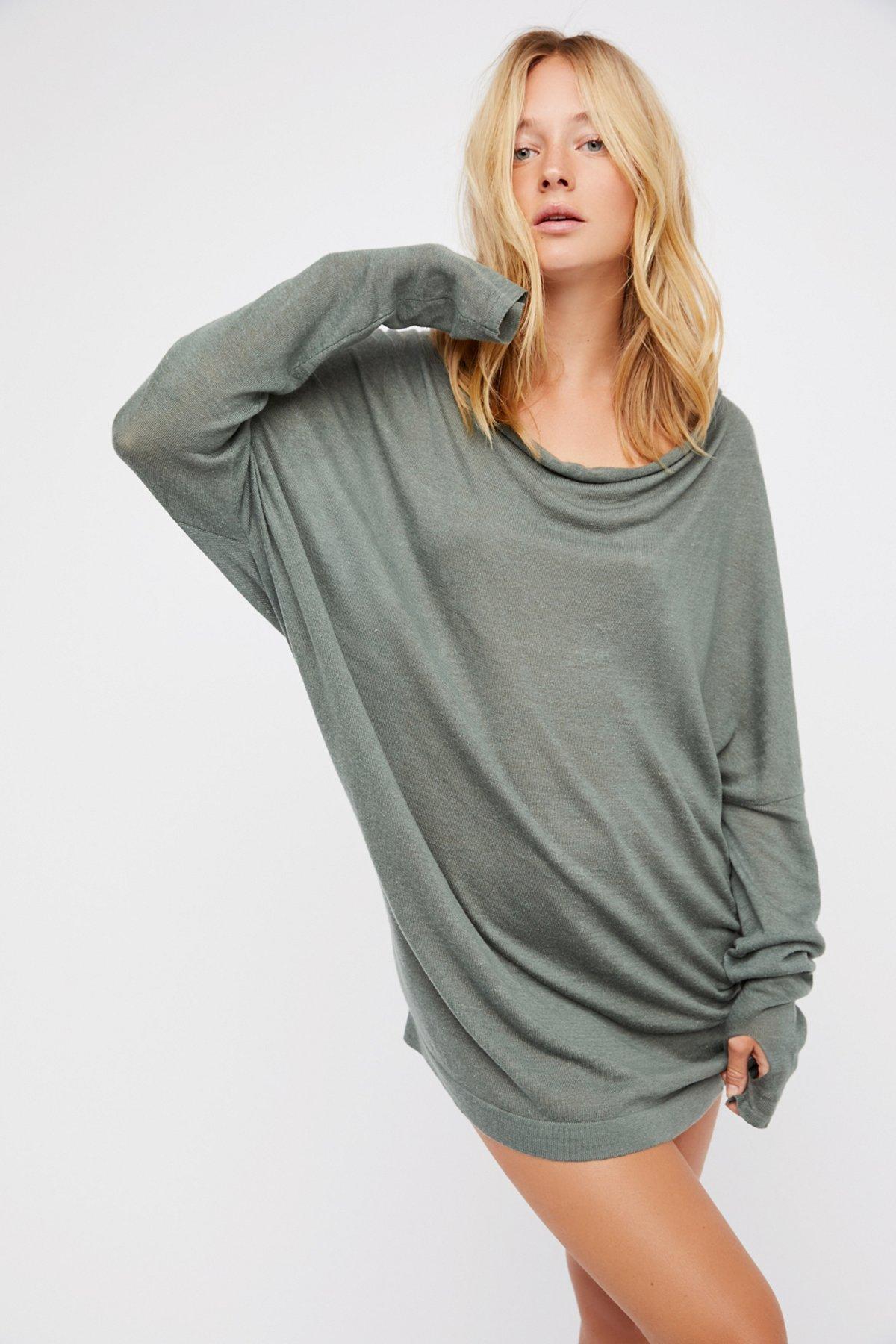 Crescent Sweater Dress