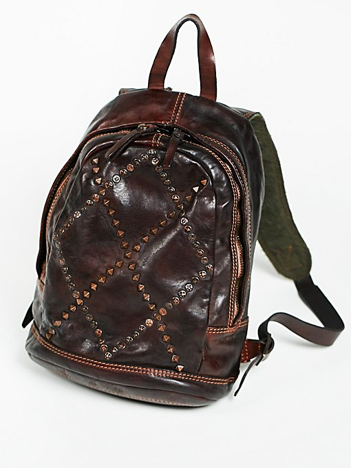 Product Image: Verona Leather Backpack