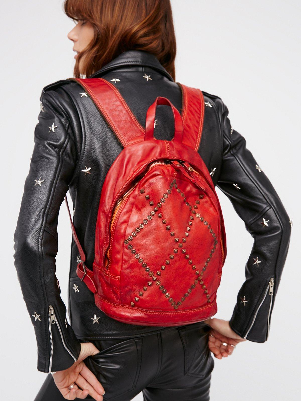 Verona Leather Backpack