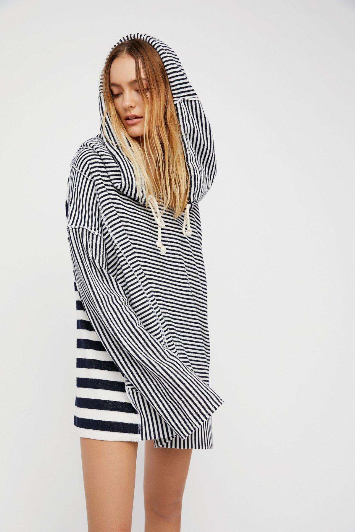 Shoulders and Stripes Hoodie