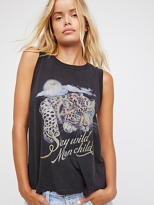 Product Image: Stay Wild Moon Child Tank