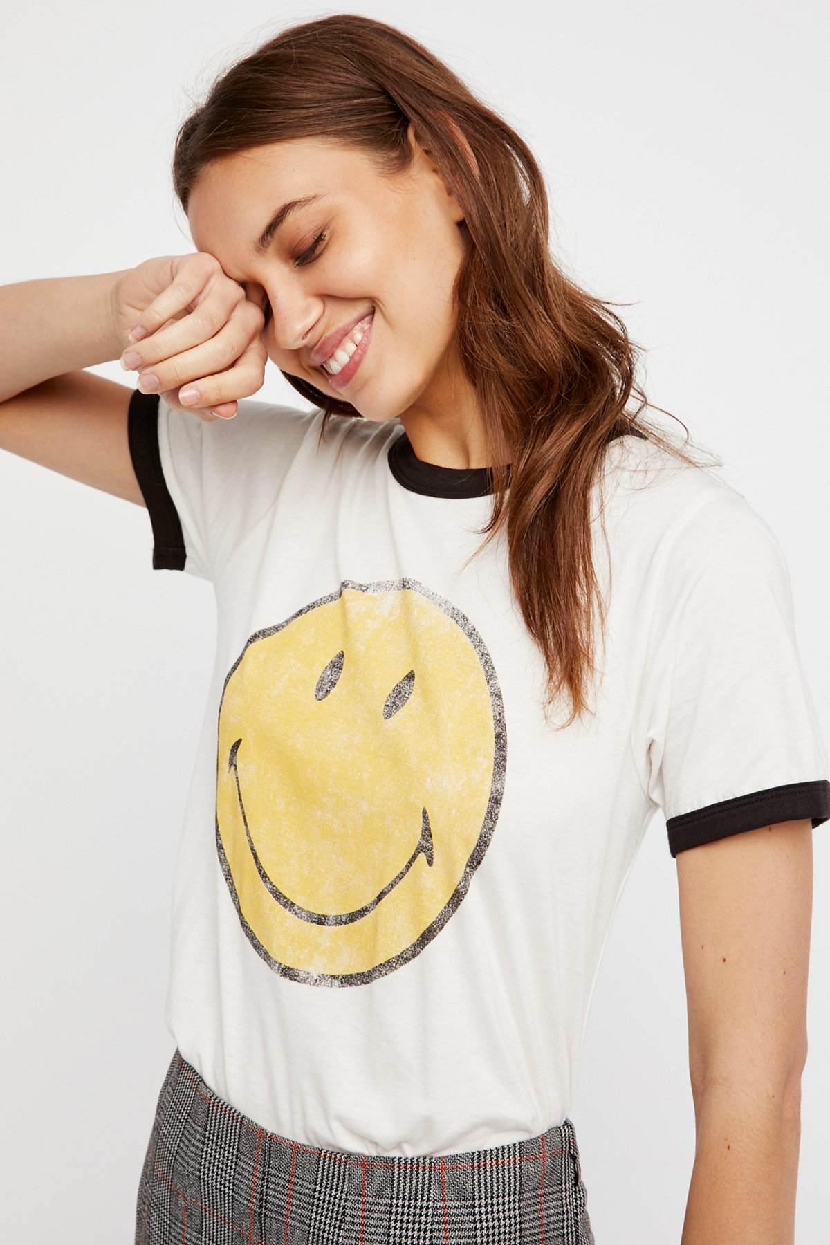 Smiley圆领T恤
