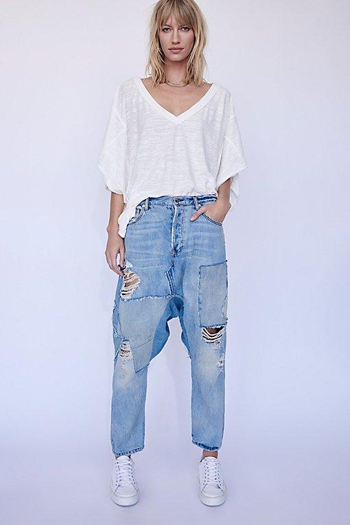 Product Image: Blazing Summer Harem Jeans