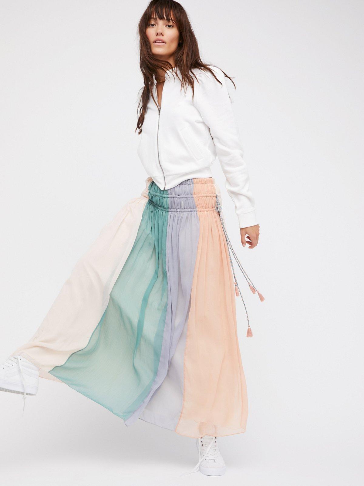 Cleo Maxi Skirt