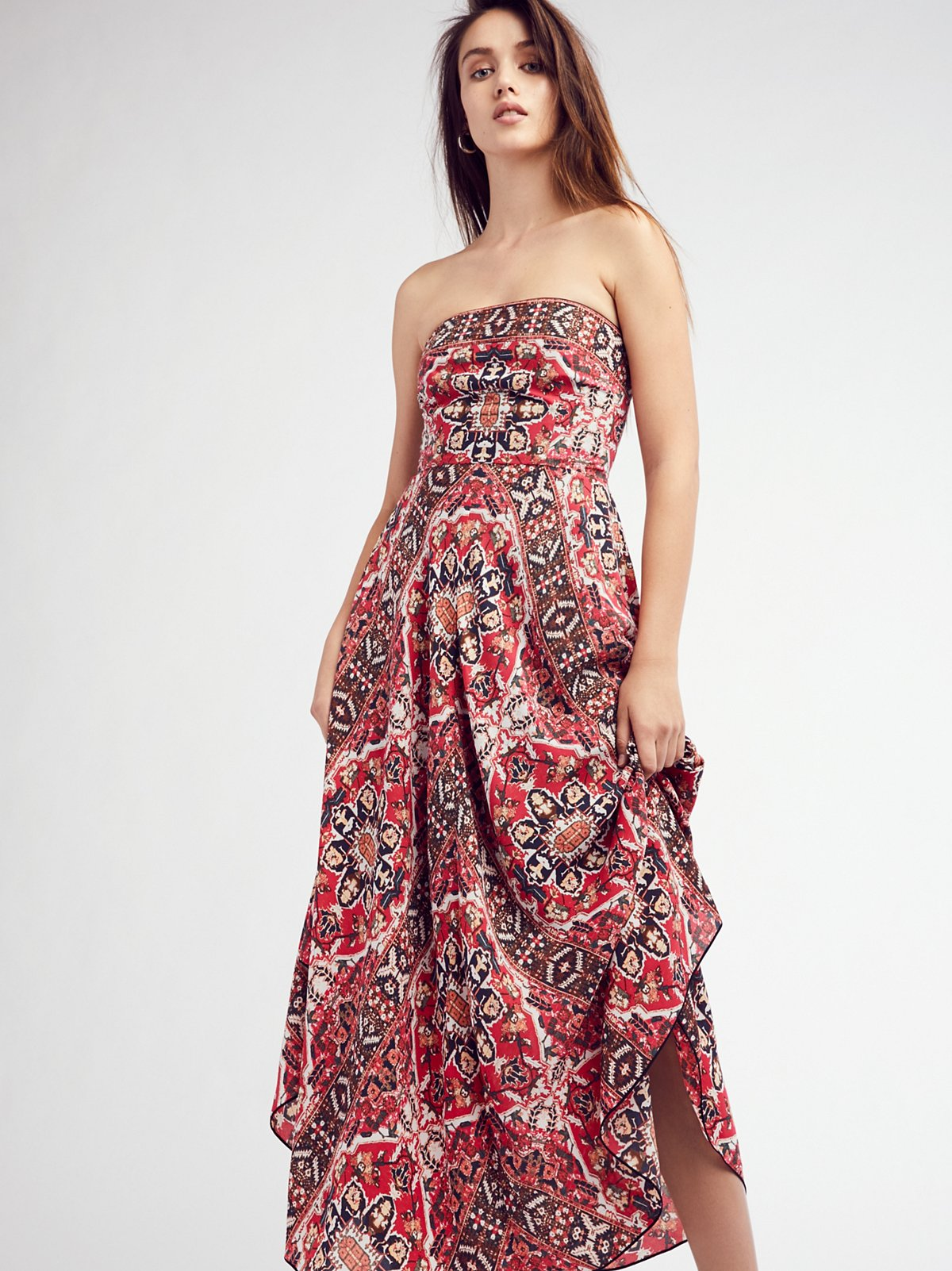 Erin's Printed Maxi Dress