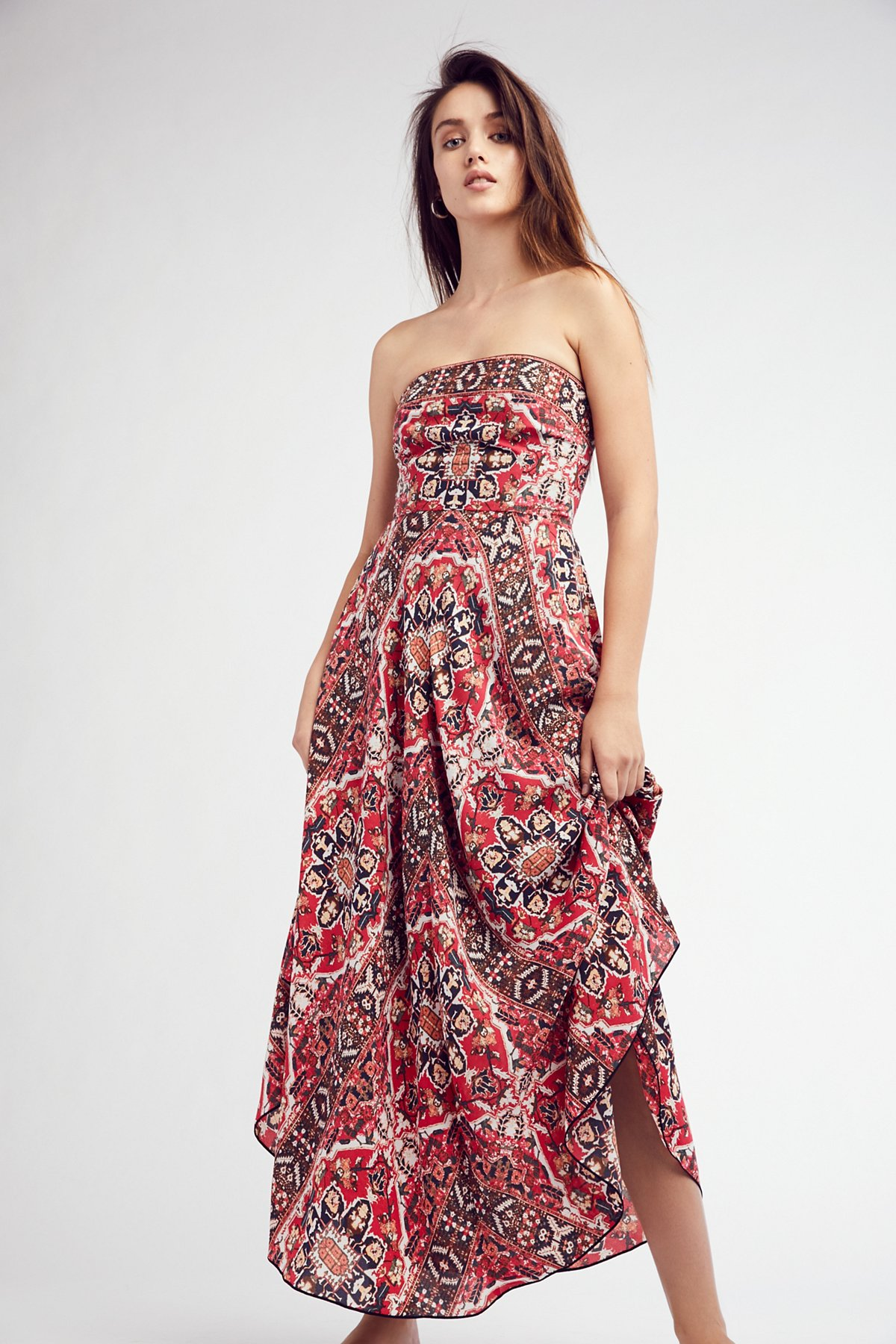 Erin's Printed Maxi Dress