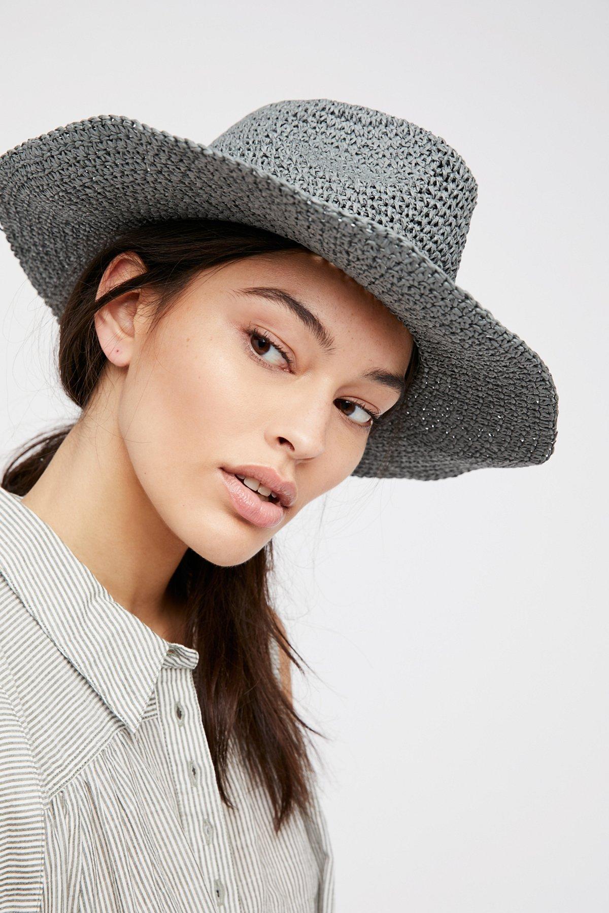 Mellow Mood可收纳草帽