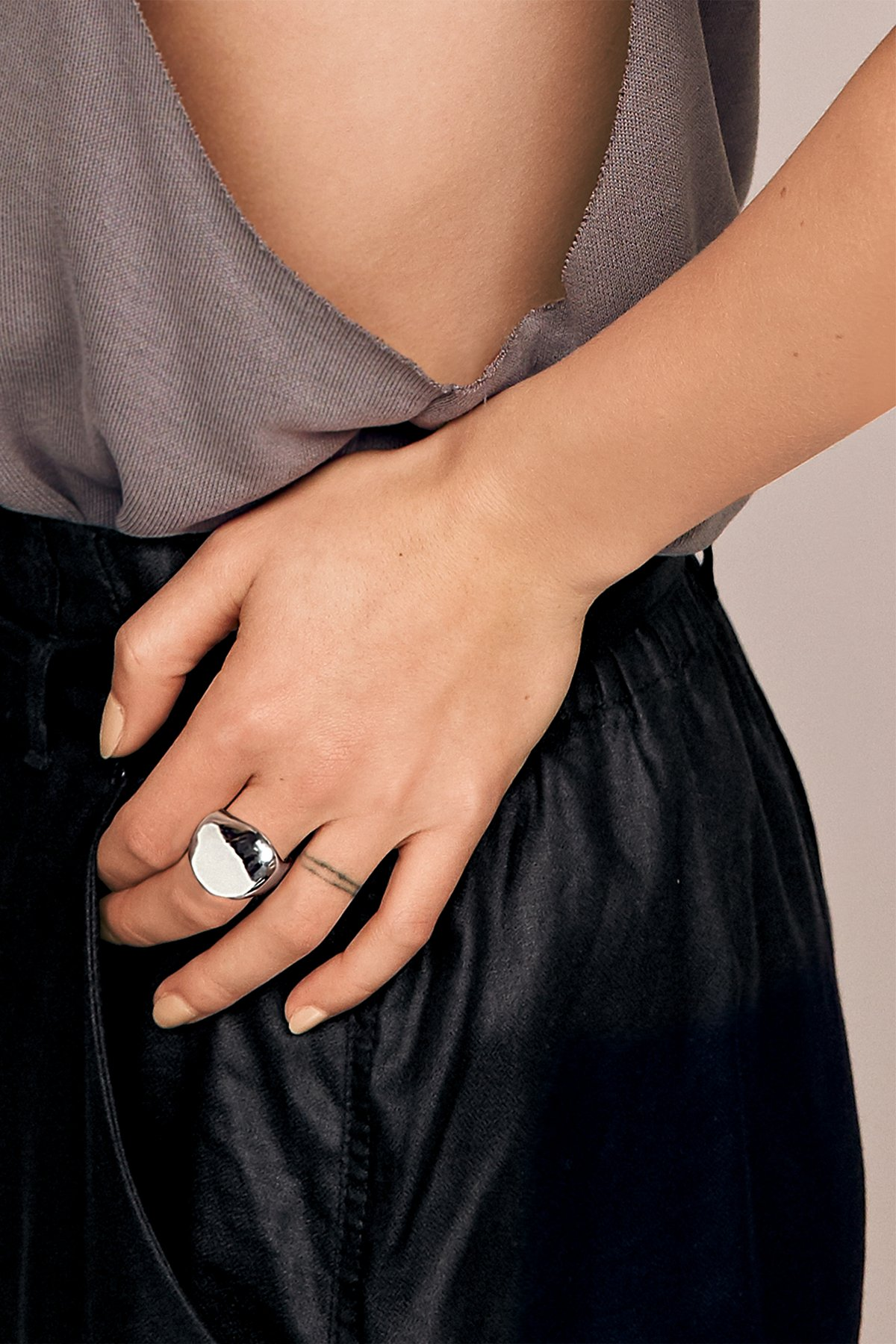 Mirror Orbit Ring