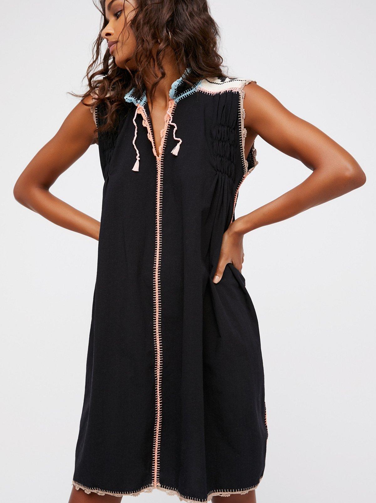 Oaxaca Crochet Dress