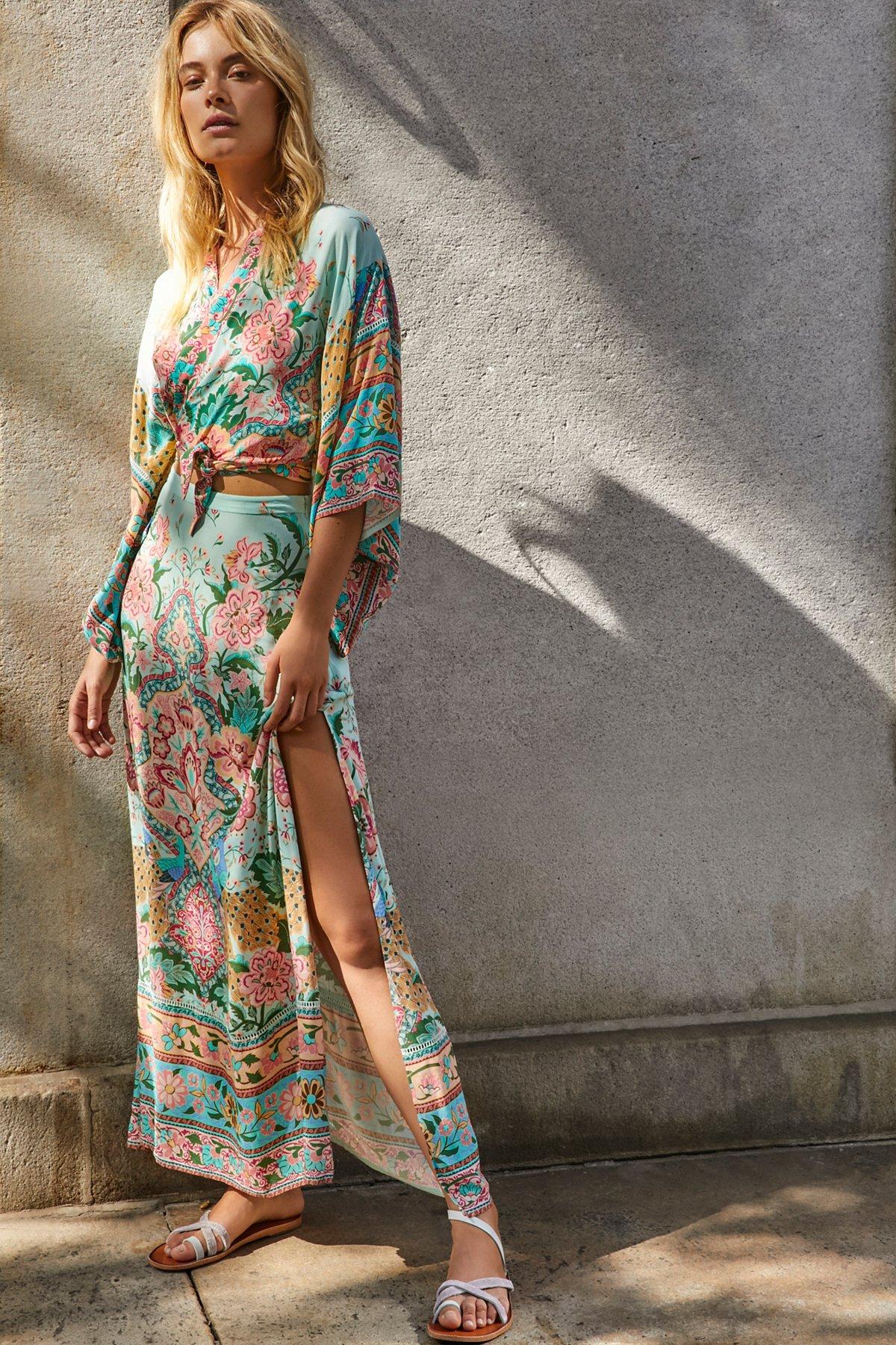 Lotus Kimono Co-Ord