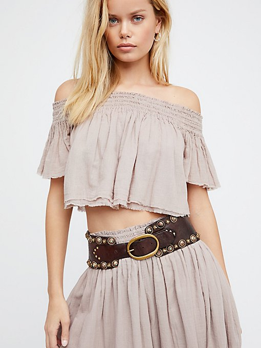 Product Image: Luxe Leather Waist Belt