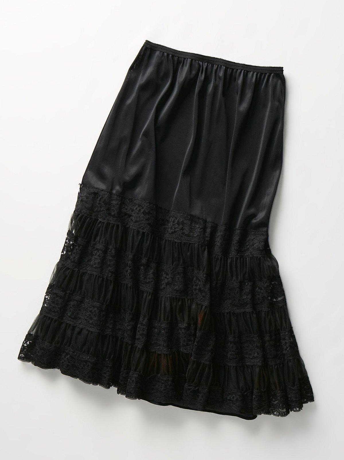 Vintage 1980s Slip Skirt