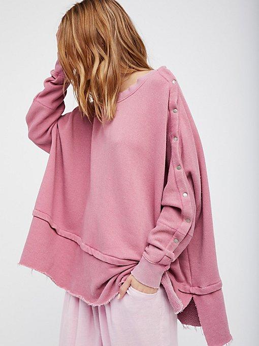 Product Image: Snap Up Shoulder Pullover