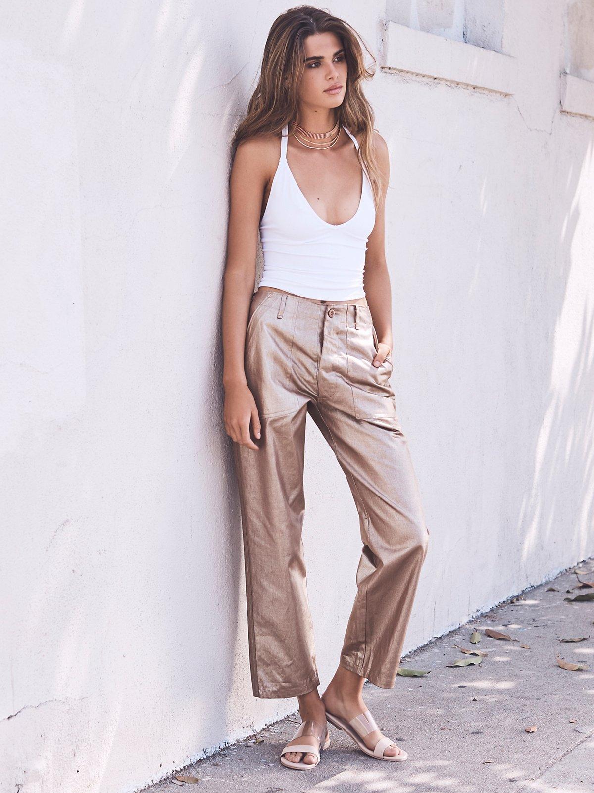 Copper Trouser