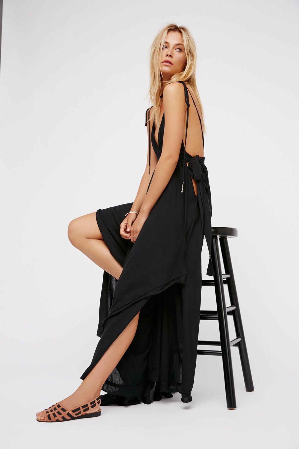 Tropical Heat长款连衣裙