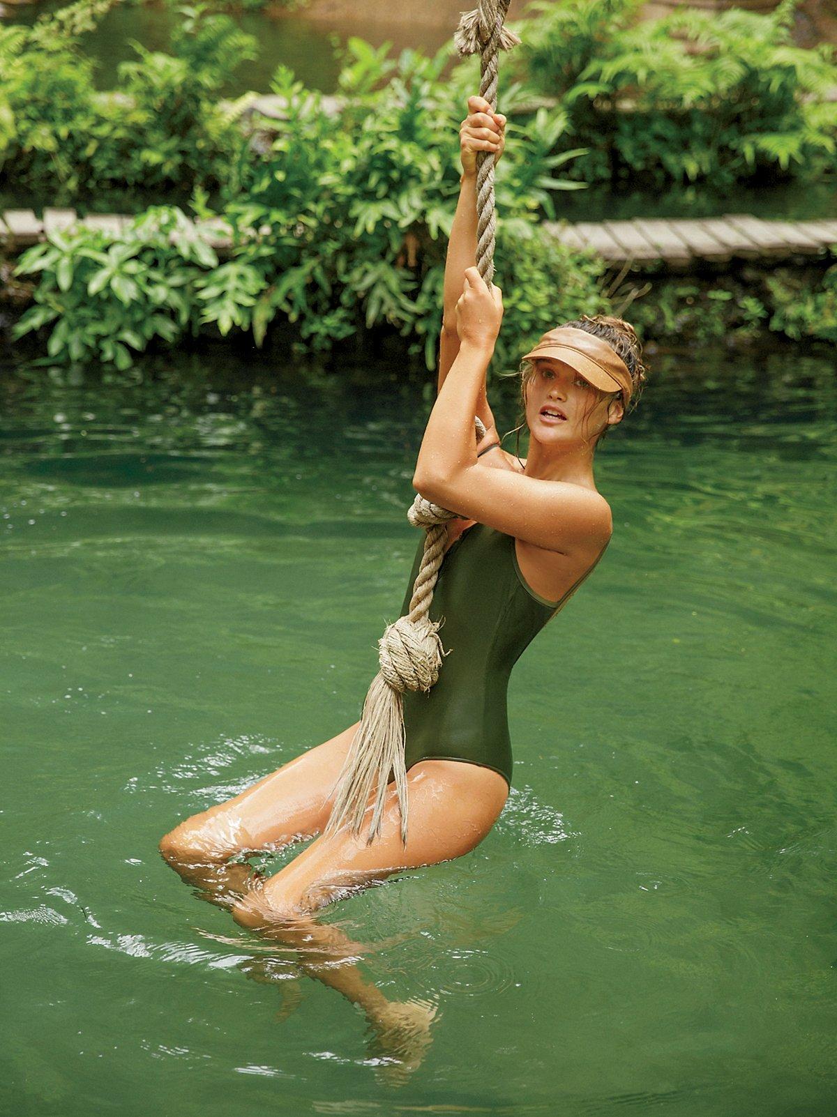 Lila One Piece Swimsuit