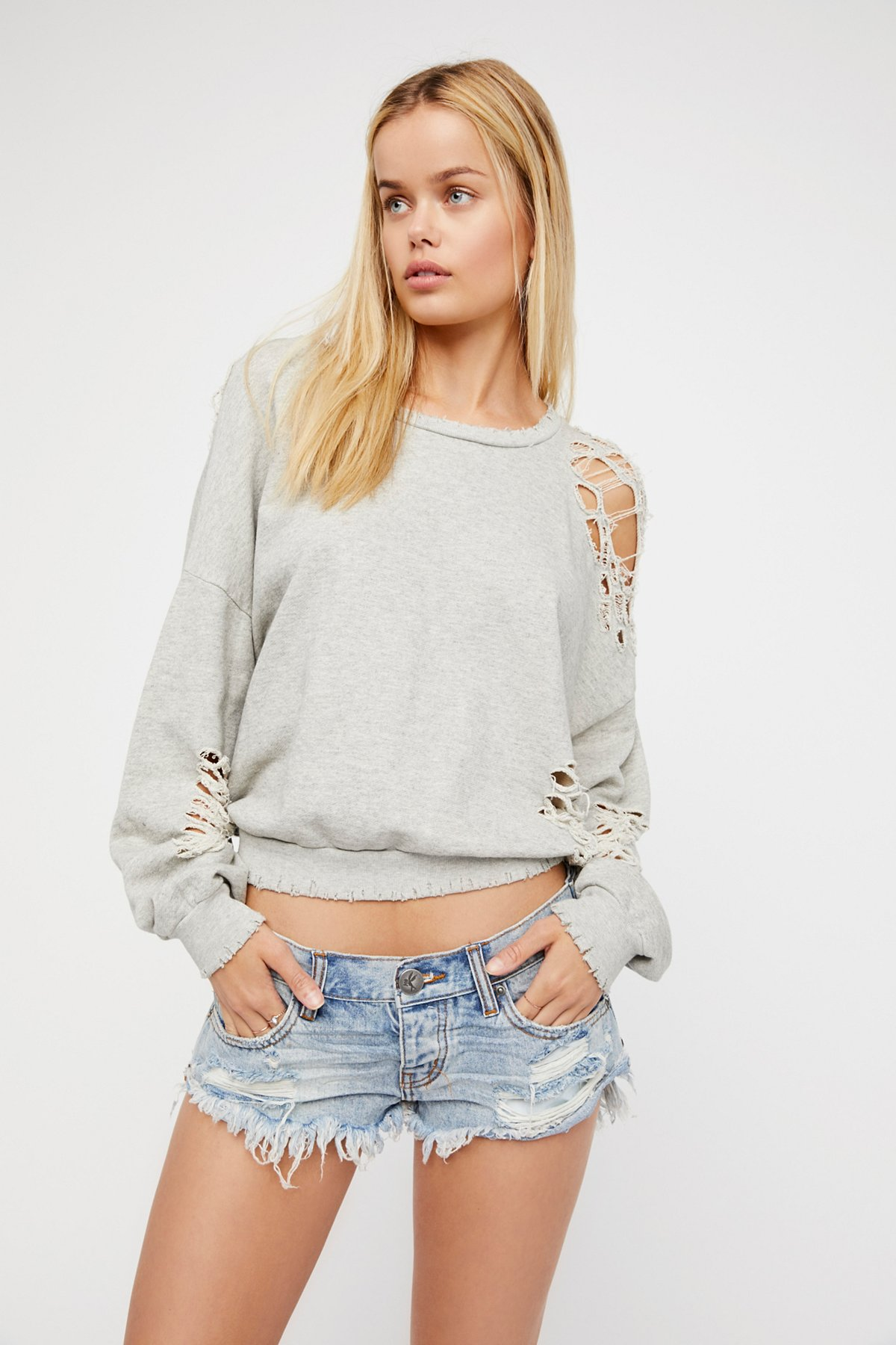No.2s Denim Shorts