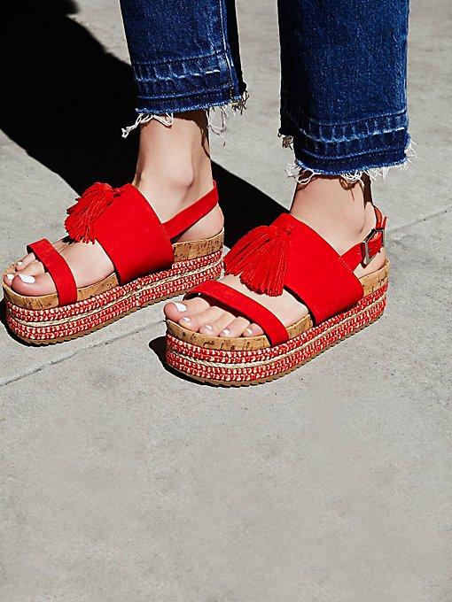 Product Image: Tassels Flatform Sandal