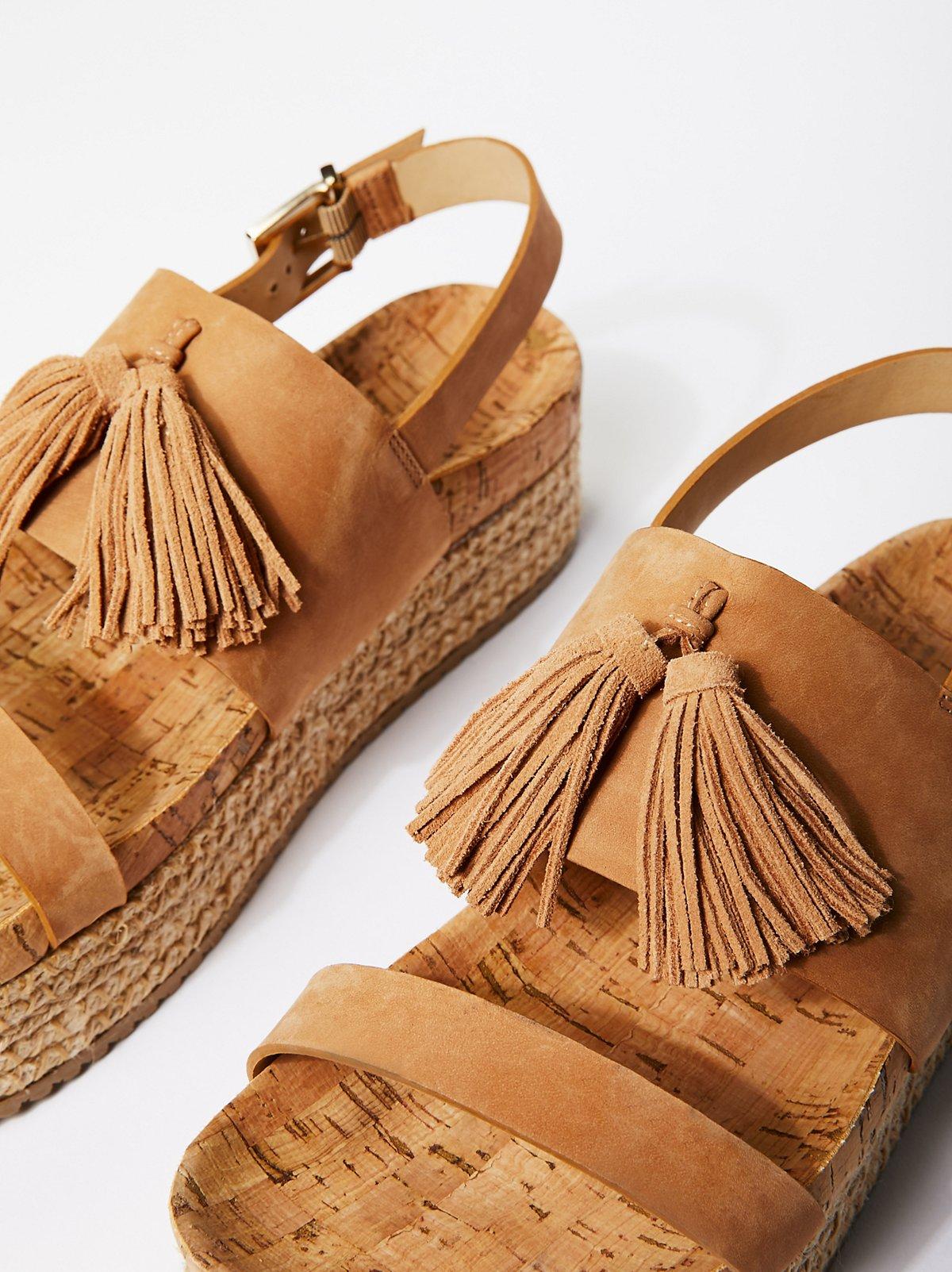 Tassels Flatform Sandal