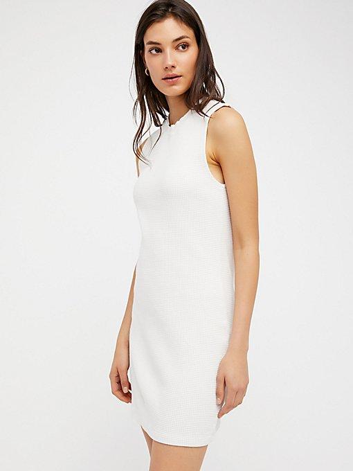 Product Image: Monaco Thermal Mini Dress