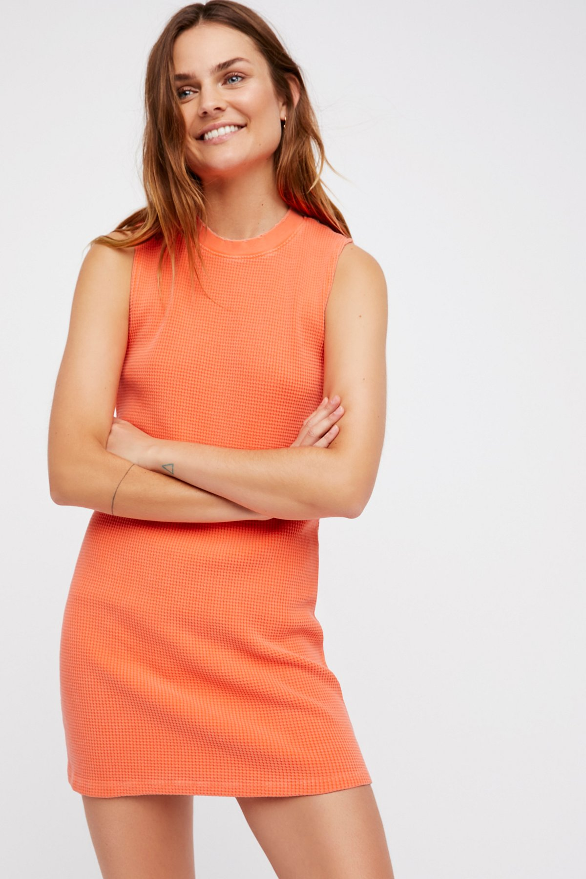 Monaco Thermal Mini Dress