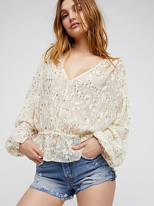 Product Image: Smile Away Embellished Top
